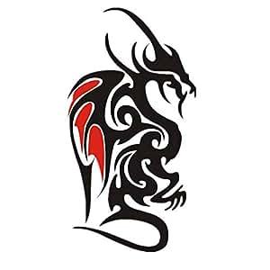 Totem Tattoo Sticker Body Art Men Big Temporary Tattoos Dragon LQDD023