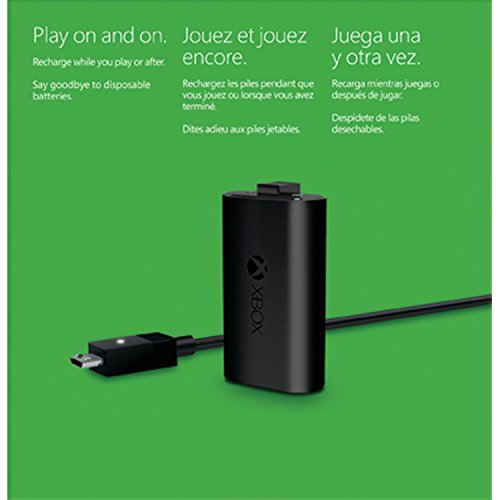 xbox one play and charge kit best buy