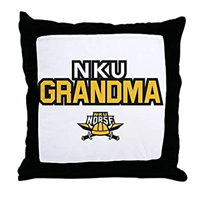 Pattebom Northern Kentucky Nku Norse Grandma Canvas Throw Pillow Covers 18 x 18 Home Decor Farmhouse Throw Pillows Case Cushion Covers Decorative for Gifts