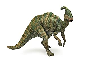 Amazon.com: Papo The Dinosaur Figure, Parasaurolophus: Toys & Games