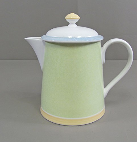 Villeroy & Boch China TWIST COLOUR Tea/Coffee Pot Excellent - Boch Tableware