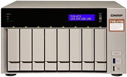 QNAP TVS-873E Ethernet Torre Gris NAS - Unidad Raid (Unidad de ...
