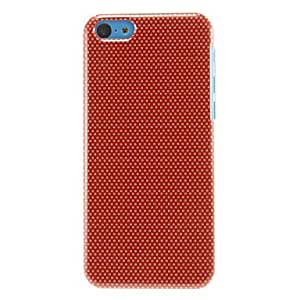 QHY Little Round Dots Pattern Hard Case for iPhone 5C