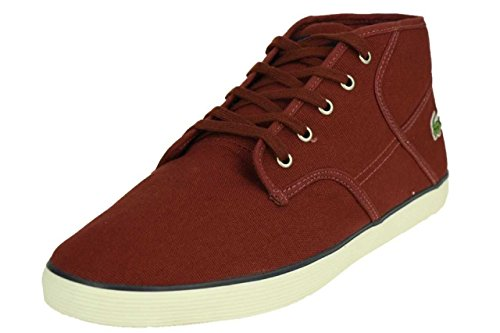 Lacoste Hommes Andover Mi Cll Dk Rouge / Dk Blu Taille 7.5
