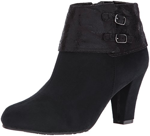 Creel Black Faux Faux Hush Women's Paisley Suede by Suede Boot Black Style Soft Puppies 7qXSSw