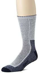 Wigwam Men\'s Cool-Lite Hiker Pro Crew Socks, Navy, Large