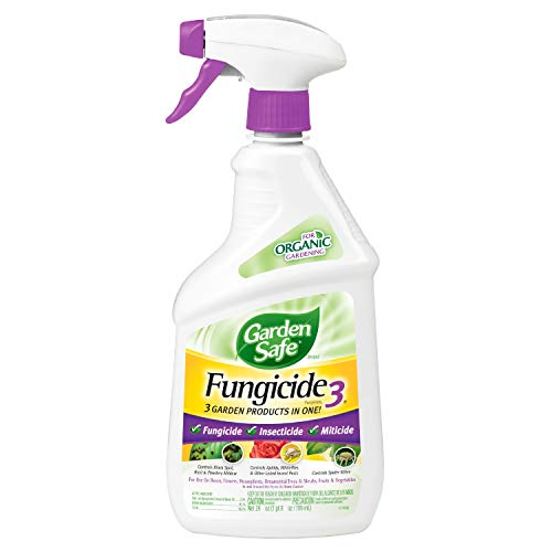 - Garden Safe Brand Fungicide3, Ready-to-Use, 24-Ounce