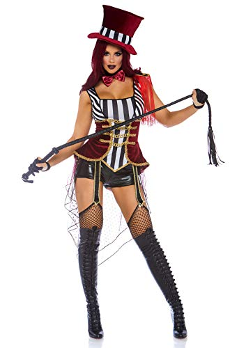 Lion Tamer Halloween Costume (Leg Avenue Women's Costume, Multi,)
