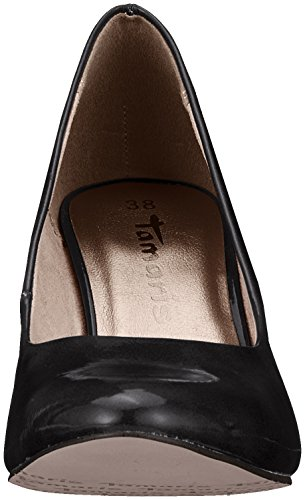Escarpins Patent black Femme Noir Tamaris 22479 5XgnqOxPP