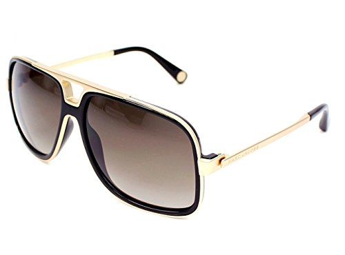 Marc Jacobs sunglasses MJ 513/S 0NZHA Acetate Matt Gold - Black Grey - Marc Men Jacobs Marc By Sunglasses