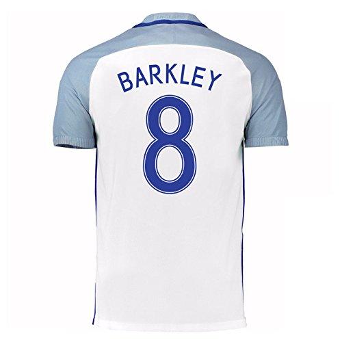 2016-17 England Home Shirt (Barkley 8) B01ERK4FG8