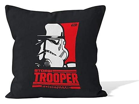 Cojín Personalizable de Star Wars Storm Trooper Pop Art ...