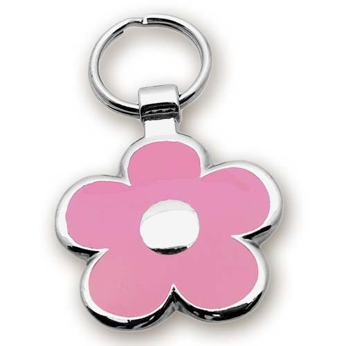 Pet ID Tag – Flower Shape Jewelry Tag- Custom engraved cat and dog ID tags. Jewelry that ensures pet safety. Available in 2 sizes and many colors., My Pet Supplies
