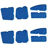 Aonesy 8 pcs Caulking Tool Scraper Kit Joint Sealant Silicone Grout Remover фото