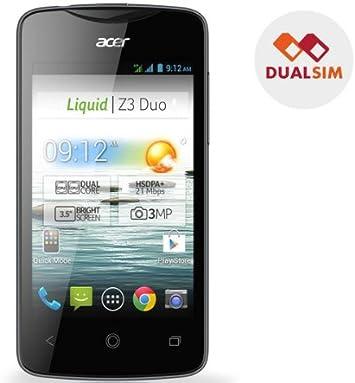 ACER Liquid Z3 Duo - negro - Smartphone dual SIM + Flip para Acer ...