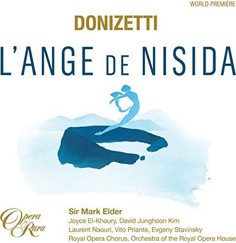 CD : MARK ELDER & ORCHESTRA OF THE ROYAL OPERA HOUSE - Donizetti: L'ange De Nisida (CD)