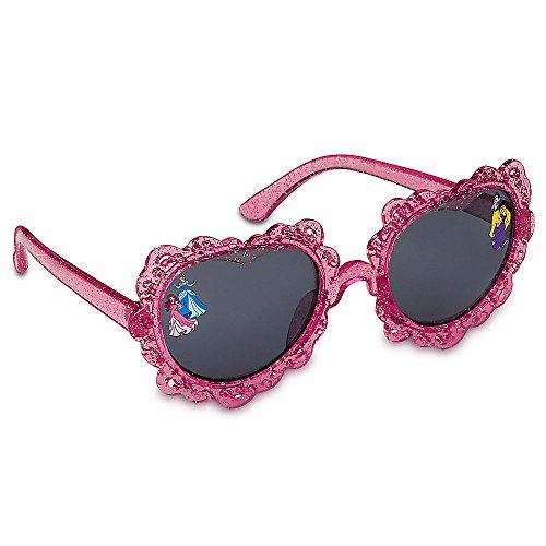 Disney Store Princess Snow White, Rapunzel, Ariel, Cinderella Heart-Shaped Sunglasses for - Sunglasses Princess