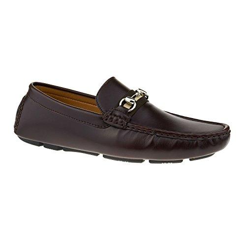 Zeppa uomo Brown Dark London Footwear Sandali con qTtwx71a