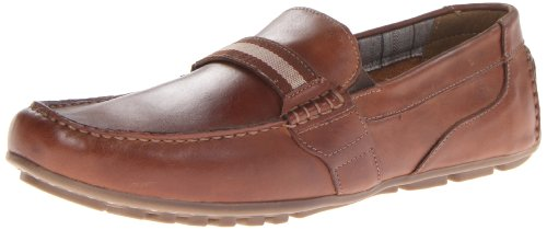 Nunn Bush Mens Spinn Slip-on Loafer Tan