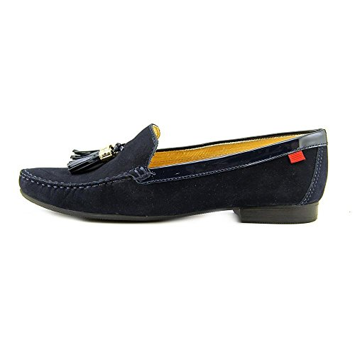 Vera Pelle Da Donna Realizzata In Brasile Street Wall Nappa Mocassino Marc Joseph Ny Fashion Shoes Navy Nappa