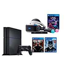 PlayStation VR Launch Bundle 3 Items:VR Launch Bundle,PlayStation 4 Call of Duty Black Ops III,VR Game Disc Batman: Arkham VR(US Version, Imported)