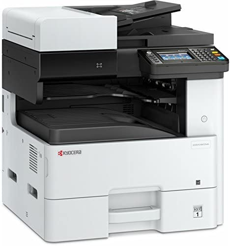 Kyocera 1102P22US0 Model ECOSYS M4125idn Monochrome A3 MFP Multi-Function Laser Printer (Print/Scan/Copy/Fax), 25 ppm B&W, Resolution 600 x 600 dpi Up ...