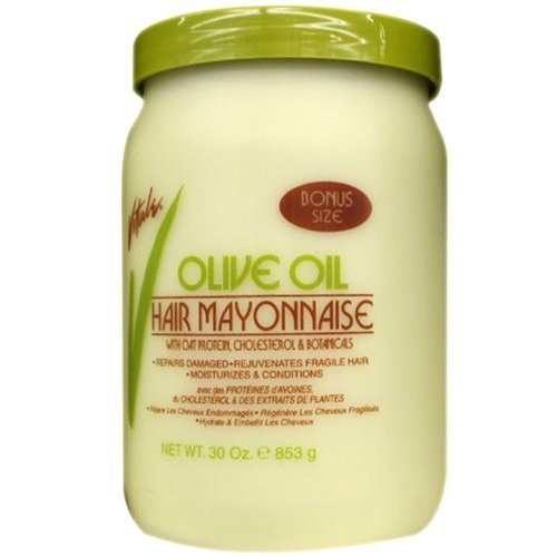 Olive Mayonnaise Hair Oil (Vitale Classic Hair Mayonnaise 30 oz)