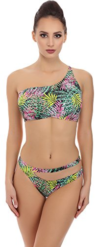 SHE Mujer Bikini Set Mei Patrón-IP08