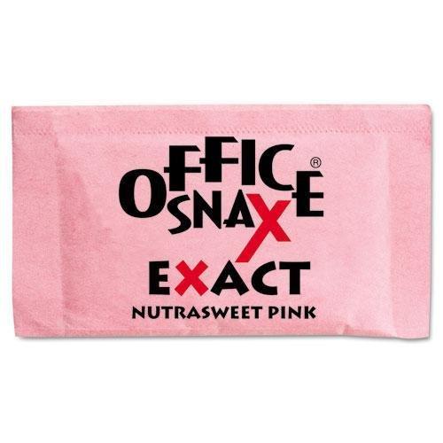 office-snax-00061-nutrasweet-pink-sweetener-2000-packets-carton