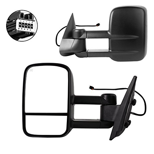 07 gmc tow mirrors - 4