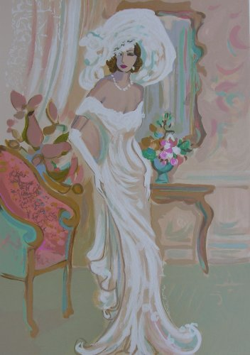 Candide from Le Cotillion Suite - Isaac Maimon Hand Signed Serigraph, Unframed