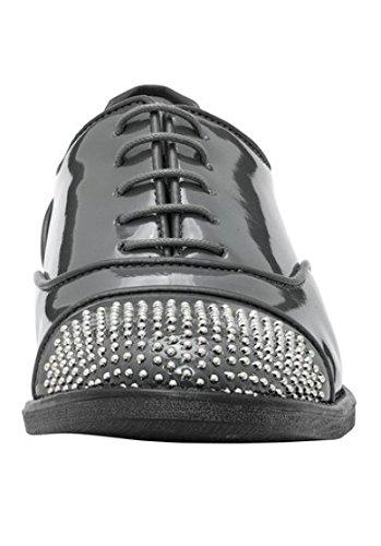Chaussures Lacksynthetik De Best En Gris Connections Femme Pour qEUn5wgf