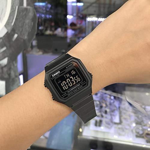 Casio Reloj Digital para Hombre de Cuarzo con Correa en Acero Inoxidable B650WB-1BEF: Amazon.es: Relojes