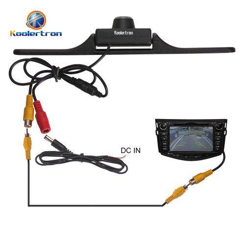 Amazon Com Koolertron Rear View License Plate Backup Cmos Camera