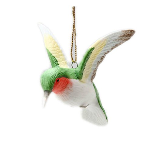 - Cosmos Gifts B9021 Ceramic Hummingbird Ornament, 3-Inch