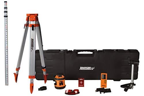 Johnson Level & Tool 99-026K Self Leveling Rotary Laser System