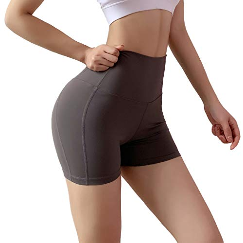 - Excursion Sports Solid Color Work-Out Yoga Leggings for Women, Breathable High Waist Tummy Control Workout Stretch Shorts, Fitness Butt Lift Running Slimming Booty Tights