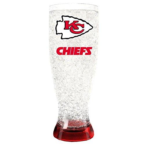 Kansas City Chiefs Crystal Pilsner Glass