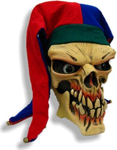 Be Something Studios Die Laughing Skeleton Jester Mask (Skeleton Jester)