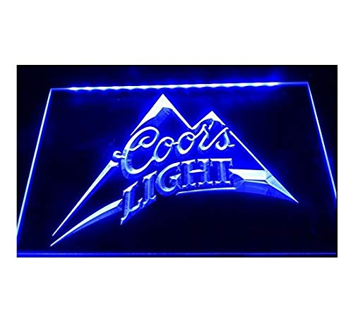 Coors Light Beer Pub Bar Led Light Sign