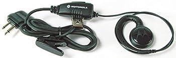 Motorola HKLN4424A Swivel Earpiece With In-Line Push-To-Talk
