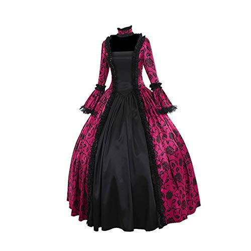 Best Ideas For Couples Halloween Costumes (Clearance Gothic Dress, Forthery Women's Gothic Victorian Poplin Long Sleeve Hooded Halloween Lolita Witch Dress(Hot)