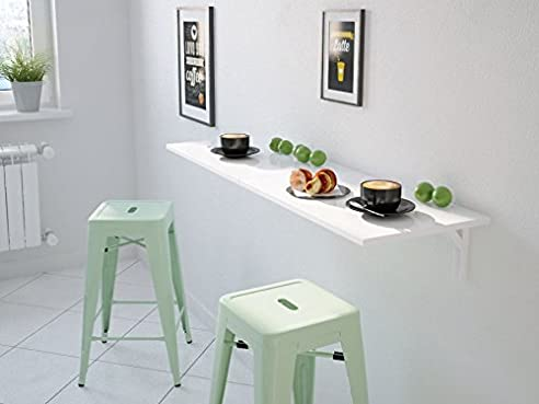 Wandklapptisch Klapptisch Nico (60 X 45 Cm): Amazon.De: Küche