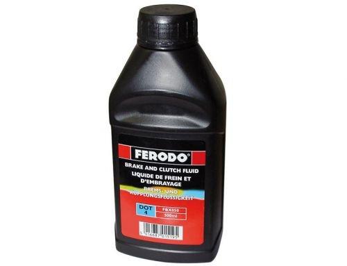 Ferodo DOT 4 Liquide de frein 500 ml pour scooter, moto, quad