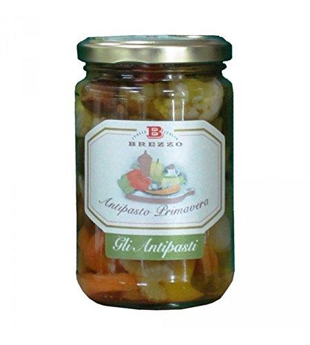 Brezzo - Verduras a la plancha con aceite de oliva 280 gr: Amazon.es: Alimentación y bebidas
