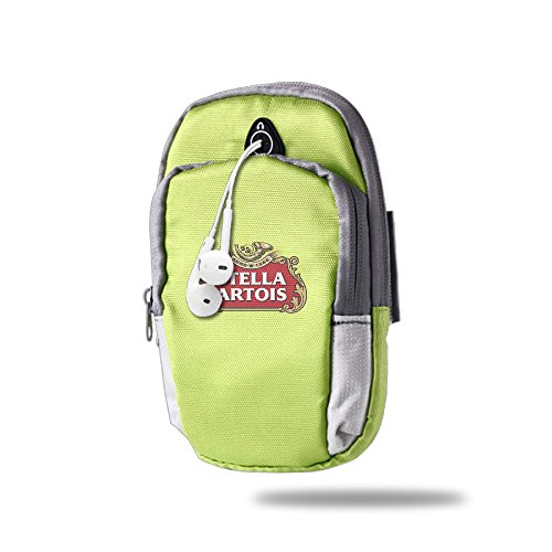 asenra-arm-bag-mens-womens-stella-artois-beer-kellygreen-outdoor-sports-portable-arm-bag-arm-pouch-w