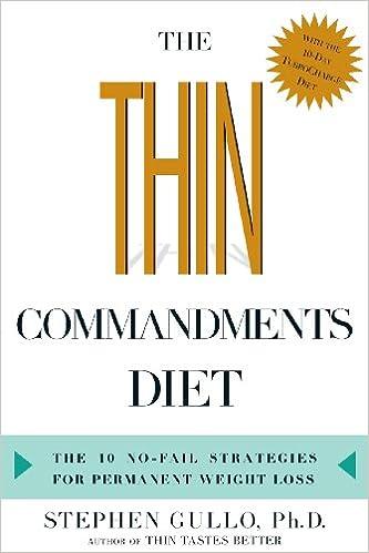 The Thin Commandments Diet: The Ten No-Fail Strategies for ...