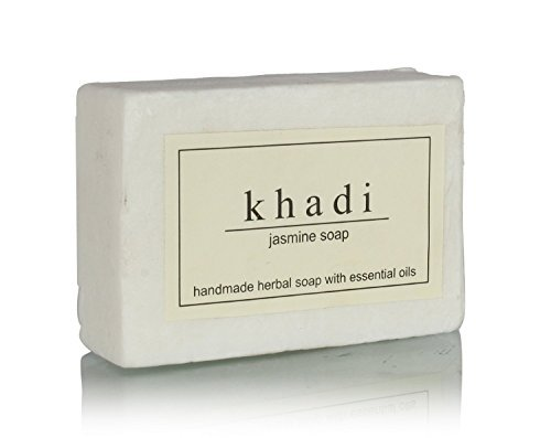 Skin Normal Elements Cleanser (Khadi Natural Ayurvedic Herbal Handmade Pure Jasmine Bathing Soap with Vitamin E for Dry to Normal Skin (125 g))