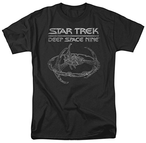 Amazon.com: DS9 Station Star Trek Deep Space Nine T-Shirt: Clothing