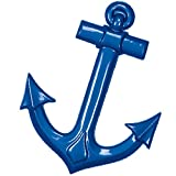 Blue Maritime Anchor